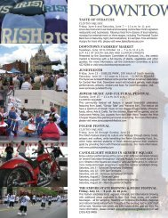 DOWNTOWN EVENTS - City of Syracuse