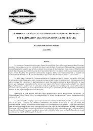 pdf 126 ko - Institut national de la statistique malgache (INSTAT)