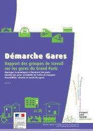 la démarche des gares du Grand Paris - Driea