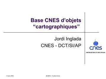 (CNES - DCT/SI/AP) : Base CNES d'objets