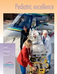 142974_Annual Report_D.indd - Children's Hospitals and Clinics of ...
