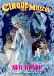 The MOSCOW CIRCUS on ICE