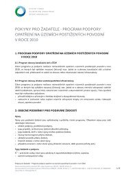 Příloha č. 3 - Pokyny pro žadatele - Státní fond životního prostředí