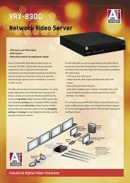 VRX-8300 Network Video Server
