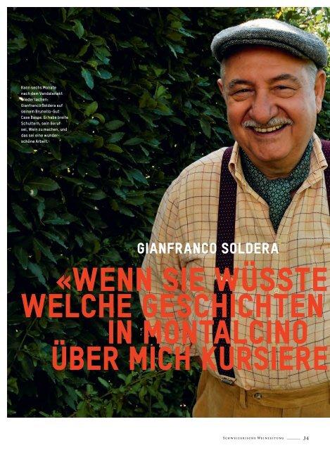 Gianfranco Soldera - Schweizerische Weinzeitung