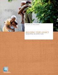 Building Your Legacy - TIAA-CREF