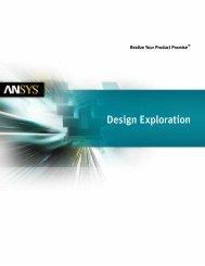 ANSYS DesignXplorer - Kx Simulation Technologies