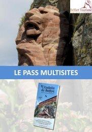 Pass multisites - Citadelle de Belfort - Belfort Tourisme