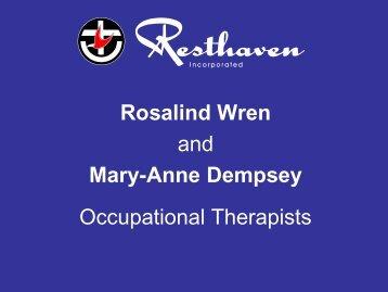 Rosalind Wren - Falls Prevention in SA