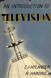 AN INTRODUCTION TO - Early Television Foundation