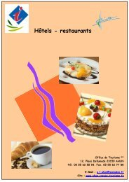 Hôtels - restaurants