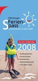 Mein Kind ist zu alt für die Stadtranderholung - Stadt Offenburg