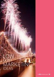 LOW MARKETING - Tourism Queensland