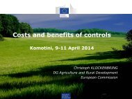 Costs and Benefits of Controls - C. Klockenbring