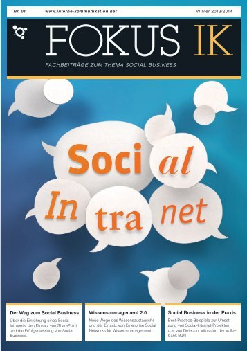 Social Intranet - Interne Kommunikation