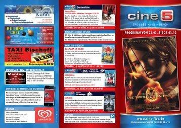 PROGRAMM VOM 22.03. BIS 28.03.12 - Cineprog
