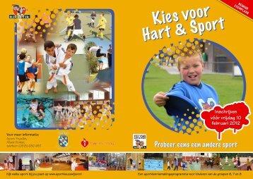 Kies voor Hart & Sport Kies voor Hart & Sport - kies je sport