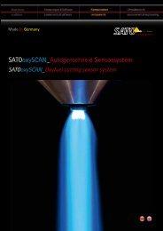 SATOoxySCAN_Autogenschneid Sensorsystem