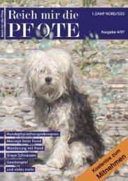 Inhalt Ausgabe 04/07 - Reich mir die Pfote