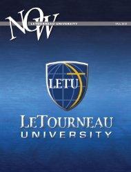 FALL 2010 LETOURNEAU UNIVERSITY