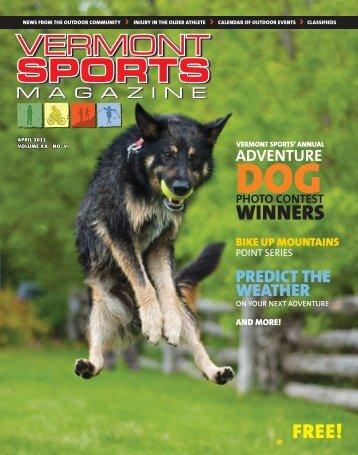 April 2011 - Vermont Sports Magazine