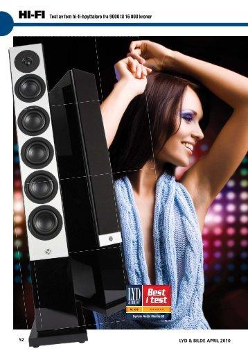 Best i test - System Audio