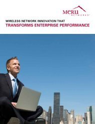 TRANSfORMS ENTERPRISE PERfORMANCE