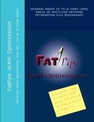 FatPipe WAN Optimization - Sysob