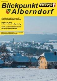 """""""familienfreundlichegemeinde"""" Zertifikat für Alberndorf erneuert ..."""