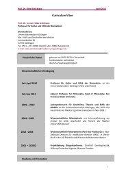 Silke Schicktanz - Ethik und Geschichte der Medizin