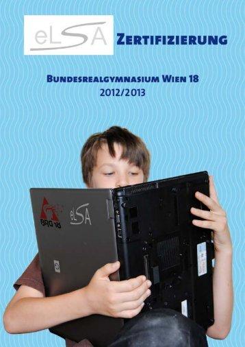 eLSA Zertifizierung Folder - BRG 18 Schopenhauerstraße