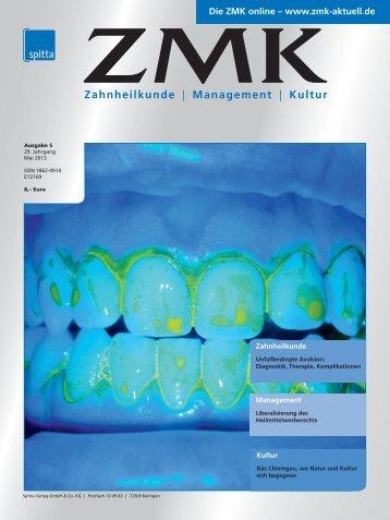 Ausgabe 5/2013 - ZMK-Aktuell