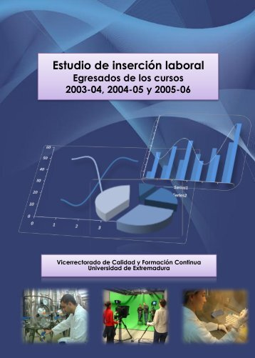 Curso Académico 2003/2004 a 2005/2006 - Universidad de ...