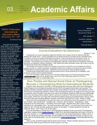 monthly journal of the VPAA #3 11-09 - SNHU Academic Archive ...