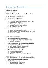 Teil 5: Spielend das Leben gewinnen - Rainer Schmidt