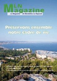 MLN Magazine - Juin 2010 - Mandelieu La Napoule