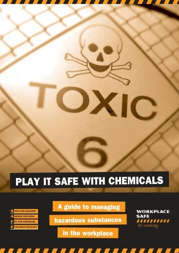 Play it safe with chemicals (GB084) - Workplace Standards | Tasmania