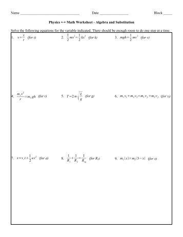 Year 6 Algebra Worksheet One-step Algebra 2 ... - Maths Tutoring