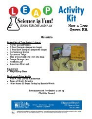 How a Tree Grows Kit