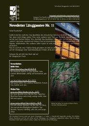 Newsletter Nr. 11 vom 08. Juli 2010 - Länggass-Tee