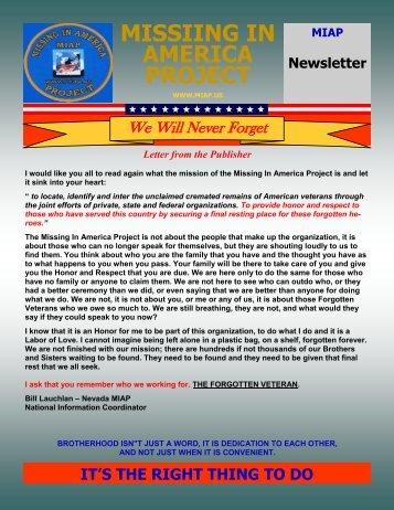 MIAP Newsletter 4-13 - MIAPBLOG.us