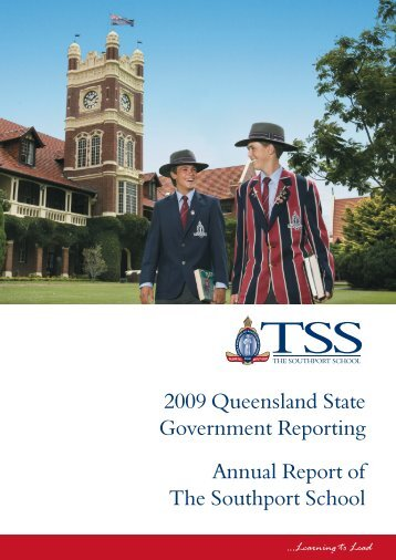 2009 Queensland State Government Reporting Annual Report of the ...