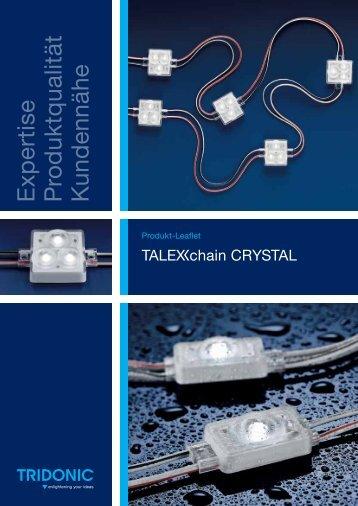 Leaflet TALEXXchain CRYSTAL - Tridonic