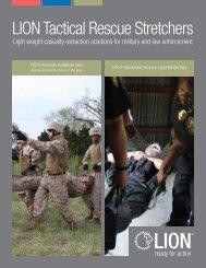 LION Tactical Rescue Stretchers