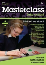 Masterclass: Take Action Issue 1 - Staffordshire Learning Net