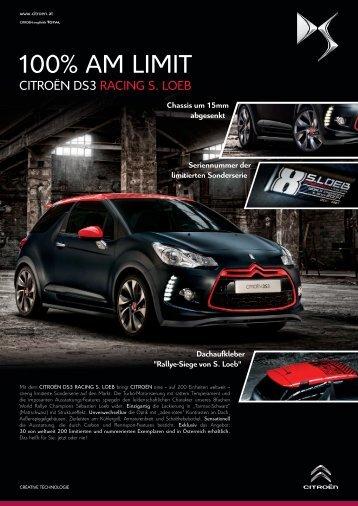 Produktinfos zum Citroën DS3 Racing S. Loeb