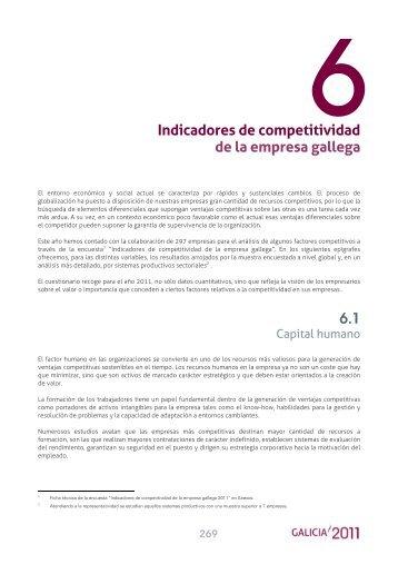 6. Indicadores de competitividad de la empresa gallega - Ardan