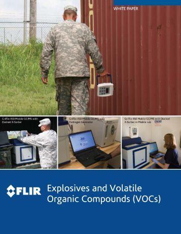 Explosives and Volatile Organic Compounds (VOCs) - FLIR.com