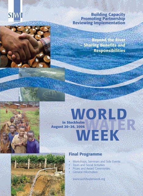 Final Programme Beyond the River - World Water Week