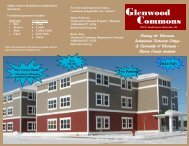 Glenwood Commons - Wisconsin Indianhead Technical College